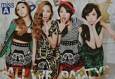 Miss A-POSTER a3 (circa 42 x 28 cm) - band skinning fan Raccolta Nuovo