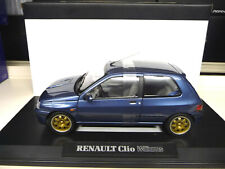 Renault Clio Williams Phase 1 blue 1. Edition Norev 1:18 NEW