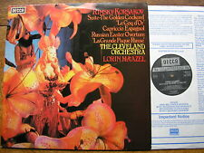 SXL 6966 RIMSKY-KORSAKOV: ORCHESTRAL WORKS  LORIN MAAZEL / CLEVELAND    NM