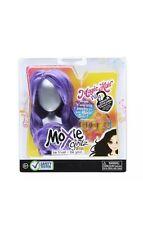 NIB MOXIE GIRLZ MAGIC HAIR DOLL WIG PURPLE & JEWELRY ACCESSORY SET PACK