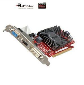 SCHEDA VIDEO GRAFICA PCI EXPRESS ASUS AMD HD5450 1GB GDDR3 VGA DVI HDMI