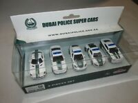 New in Box!! Majorette Dubai Police Super Cars * 5 Pack * FREE SHIPPING!!