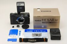 Mint in Box Konica Hexar RF 35mm Rangefinder Film Camera with Flash From Japan