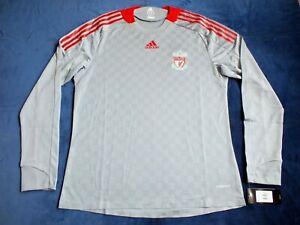 Rare BNWT Liverpool FC Shirt 2008-2009 Player Issue European Long Sleeve XL