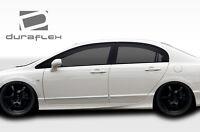 06-11 Honda Civic 4DR Duraflex JDM Type R Conv Side Skirts 2pc 107737