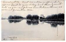 1907 postcard different view The Lake,Belle Isle Park,Detroit,MI Sol The R Co.