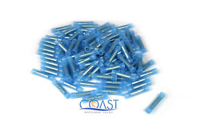 Nylon Butt Connectors 16-14 Gauge Blue BC1614B - 100 PCS