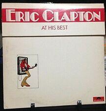 ERIC CLAPTON At His Best DOUBLE Album Released 1972 Vinyl/Record US  pressed