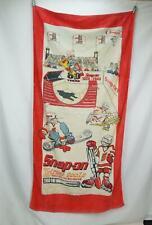 Vintage Snap-On Beach Terry Towel X-treme Tools 64x33