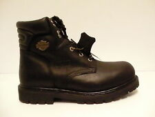 """Harley davidson boots D91015 black torque 6"""" steel toe size 11 us men"""