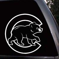 Chicago Cubs Bear Logo Baseball Car Truck Window Laptop Wall Vinyl Decal Sticker