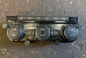 VW GOLF MK7 2013-2017 HEATED SEATS AC HEATER CLIMATE CONTROL SWITCH 5G0907044AA