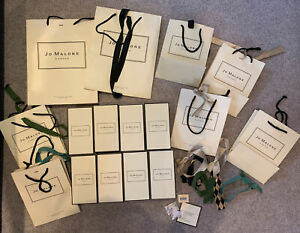 Jo Malone Gift Boxes And Bags X 8
