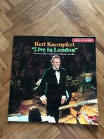 "Bert Kaempfert Live In London Polydor 2310 366 12"" Vinyl LP Free UK Postage"