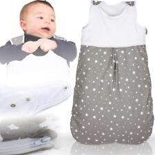 Winterschlafsack STERNE Baby Kind Schlafsack Fußsack Schlafanzug 100% BAUMWOLLE