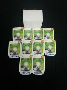 Philips 158 LongerLife Miniature Bulb, 10-Pack 158LLB2
