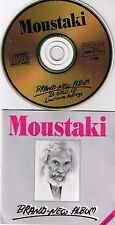 MOUSTAKI, Georges Brand New Album 24 Carati oro CD RAR