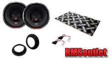 VW Caddy Mk3 03 on Vibe Slick 2 way Coaxial Speaker Upgrade pack inc Dynamat
