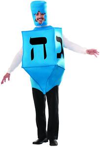 Dreidel Adult Costume Blue Hannukah Chanukah Driedel Hebrew Jewish Top Jew
