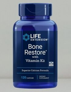 Bone Restore with Vitamin K2 by Life Extension, 120 capsule