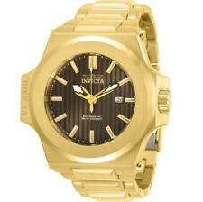 Invicta Akula 30134 Men's Analog Gold-Tone Brown Dial Automatic Date Watch