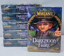 World Of Warcraft Tcg Darkmoon Faire Collector's Set, Upper Deck, New, Boosters