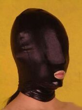 Spandex Latex Hood Full Mask Mouth Open Club Party Doomsday Costume FG H003B