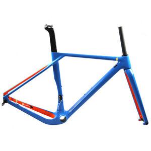 New Full Carbon Gravel Bike Frame 700C Disc All Road Cyclocross Bicycle Frameset