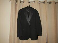 JOSEPH JOS A BANK 48 long black tuxedo jacket lapel excellent