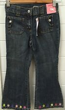 Gymboree Girls Size 5 Denim Lolly Jeans Adjustable Waist New BNWT Casual