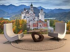 3D Wall Mural Neuschwanstein Castle Germany Photo Wallpaper Print 3D Decal Wall