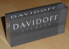 reklame aufsteller brillen optik laden werbung acryl block davidoff eyewear deko