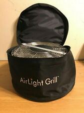 Nwob New Airlight Bbq Grill Red w/ Carry Bag Accessory Set Portable Charcoal