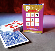 Invisible Deck Bicycle (Blue) from Murphy's Magic