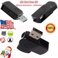 HD 1280*960 USB Disk Hidden Mini DVR DV Cam Camera Spy Camcorder Video Recorder