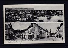 Radkersburg Mehrbildkarte gel. als Feldpost nach Graz 1941