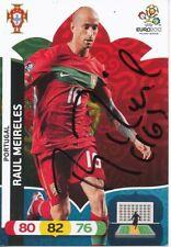 Raul Meireles  Portugal  Panini Card EM 2012 original signiert 407298