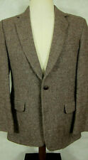 GORGEOUS Scotch House Harris Tweed Brown Textured Jacket Sport Coat England 40R