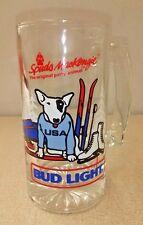 Spuds Mackenzie Beer Mug Stein Usa Winter Olympics 1987 Bud Light Budweiser