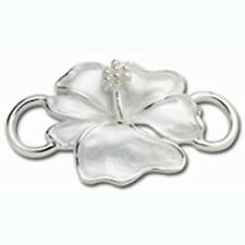 LeStage Convertible Hibiscus Clasp Sterling Silver