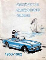 1953 1954 1955 1956 1957 1958 1959 1960 1961 Corvette Shop Service Repair Manual
