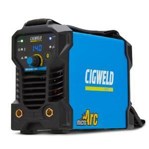 CIGWELD MICRO ARC 140A STICK/TIG DC WELDER -(W1008162) + FREE SHIPPING