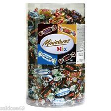1 box a 3kg Mars miniatures Mix Box Snickers Twix Bounty mini Riegel 296