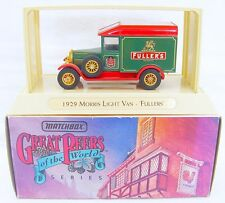 Matchbox 1:45 Models Of Yesteryear MORRIS LIGHT VAN FULLERS BEER YGB-04 MIB`93!