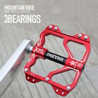 Mountain Bike Pedals Road Bike Platform Flat Cycling Sealed 3Bearing Pedals 9/16