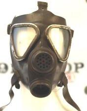 Original German Bundeswehr rubber full-face gas mask M65 universal size USED