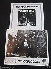 THE VOODOO DOLLS 'NOT FOR SALE' 1992 PRESS KIT--PHOTO