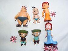RARE Bundle Chhota Bheem cartoon action figure toy playset Raju Kalia twins