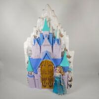 Disney Frozen Castle Ice Palace Large Foldable Playset - Furniture and doll