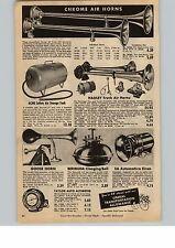 1954 Paper AD Hadley Truck Air Horn Horns Goose Bulb EA Car Auto Horn